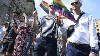 استعراض للمثليين في العاصمة البولندية وارسو. 2019/06/08