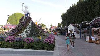 Буйство красок: Сад чудес в Дубае приветствует гостей