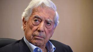 El escritor y premio Nobel de Literatura de 2010 Mario Vargas Llosa