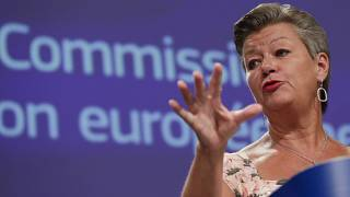 European Commissioner for Home Affairs Ylva Johansson