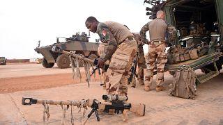 Archives : des soldats français de la force Barkhane, à Gao, dans le nord du Mali, le 19 mai 2017