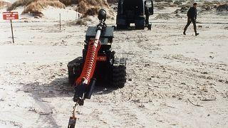 Operaciones de desminado en el archipiélago de las Malvinas