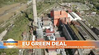The Romanian government has announced the closure of two coal mines as part of an EU Green Deal initiative
