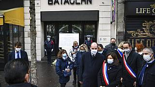 Ceremonias de conmemoración del quinto aniversario de los ataques frente al Bataclán