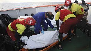 حدود ۱۰۰ مهاجر در یک روز در دریا غرق شدند