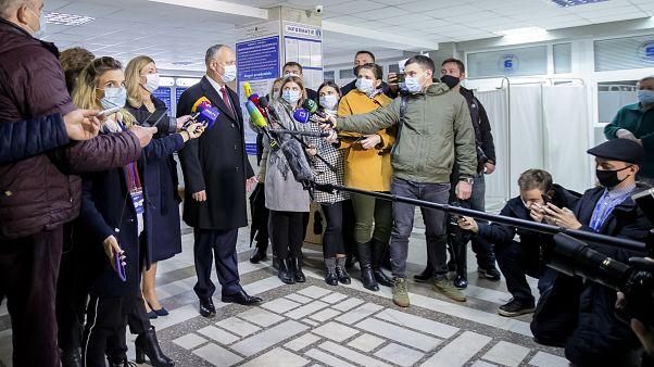 Wahl in Moldau am 1. November