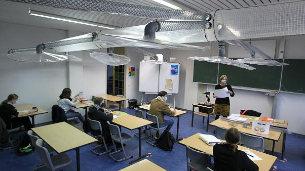 مدرسة ألمانية تجد حلا عشوائيا للتهوية المضادة للفيروسات في الأقسام
