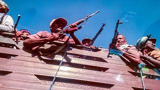 نیروهای نظامی وفادار به دولت فدرال اتیوپی
