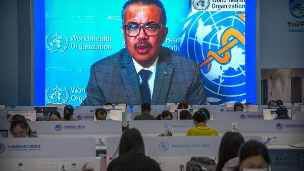 رئيس منظمة الصحة العالمية ، تيدروس أدهانوم غيبريسوس