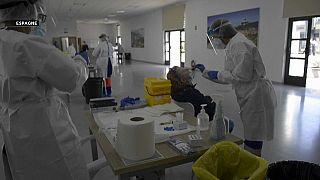 Centre de tests PCR en Espagne