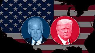 ABD'nin yeni Başkanı Joe Biden (solda) ve ocak ayında görevini bırakacak ABD'nin mevcut Başkanı Donald Trump (sağda)