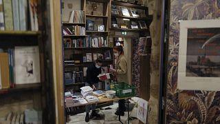 Книжный магазин в Париже