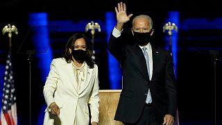 ABD Başkanı Joe Biden ve Başkan Yardımcısı Kamala Harris
