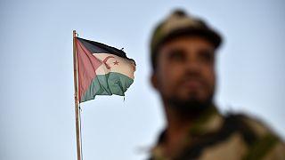 جندي في الصحراء الغربية