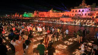 Diwali: Lichter aus Kuhmist
