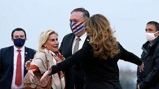 ABD Dışişleri Bakanı Pompeo ve eşi Fransa'da