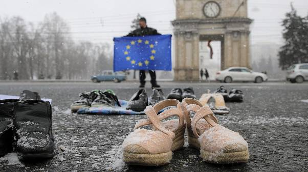 Letzte Ausfahrt EU? Straßenszene aus der Hauptstadt Chisinau