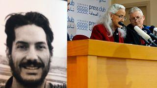 Kayıp gazeteci Austin Tice ve ailesi
