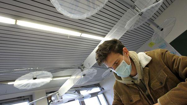 Alemão cria sistema de ventilação para salas de aulas