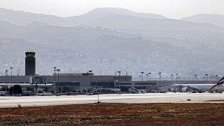 مطار رفيق الحريري الدولي في بيروت
