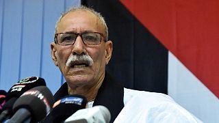 إبراهيم غالي زعيم جبهة البوليساريو