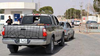 منطقة راس جدير الحدودية بين ليبيا وتونس