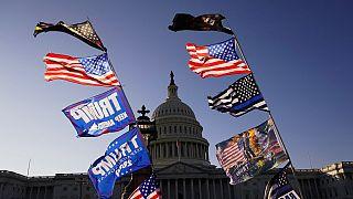 Demonstráció Washingtonban