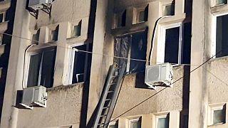 Пожар в румынской больнице: 10 человек погибли