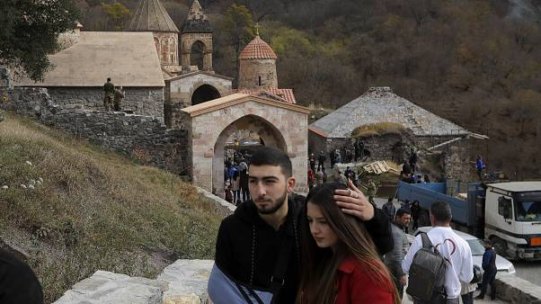 Haut-Karabakh : les familles face à l'exil