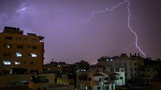 سماء غزة