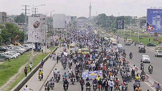 RDC : des milliers de partisans de Tshisekedi dans la rue