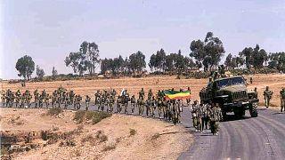 قوات تابعة للجيش الإثيوبي (أرشيف)