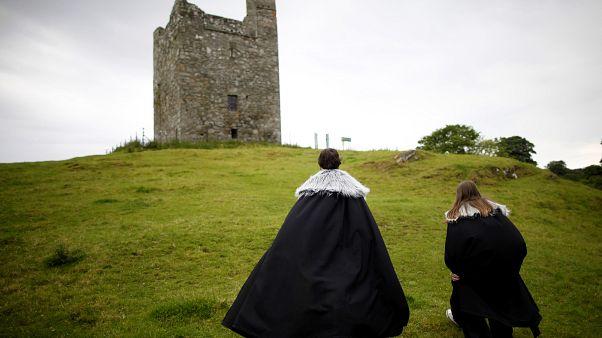 """حقول أودلي في شمال إيرلندا استخدمت في تصوير مسلسل """"لعبة العروش"""" الشهير"""