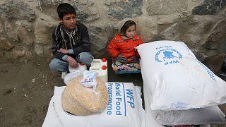 Afganistan'da insani yardım