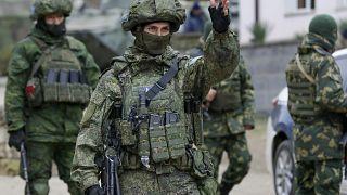 جنود روس من قوات حفظ السلام