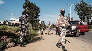Etiyopya'da askeri polis