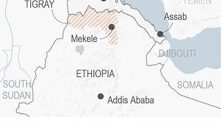 نقشه اتیوپی