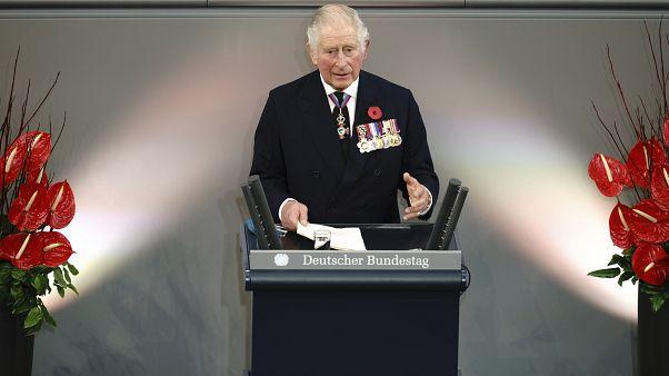 Prinz Charles im Deutschen Bundestag 15. November 2020
