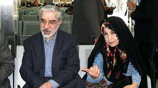 زهرا رهنورد و میرحسین موسوی در سال ۸۸