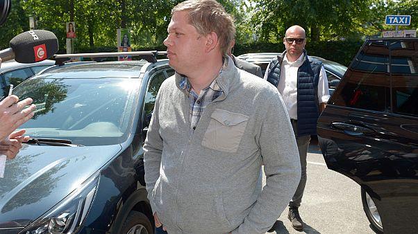 راسموس بالودان زعيم حزب اليمين المتطرف الدنماركي