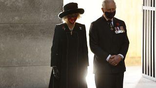 Принц Чарльз на траурной церемонии в Берлине