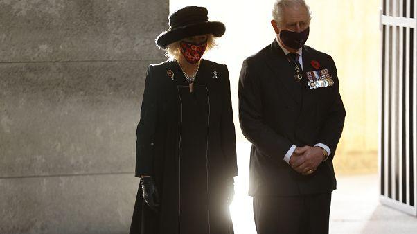 Brit trónörökös a német nemzeti gyásznapon