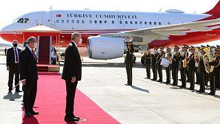 سفر اردوغان به شمال قبرس