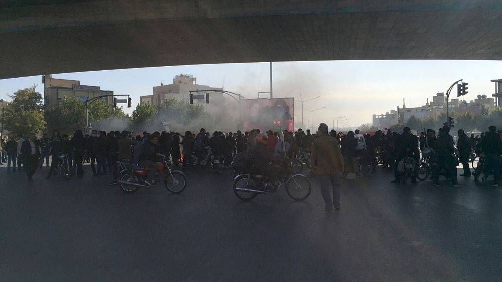 مایک پمپئو و وزارت خارجه اسرائیل برای سالگرد اعتراضهای آبان پیام دادند