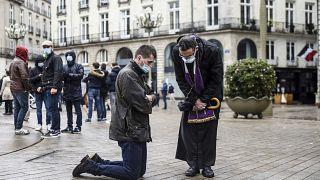 Católicos contra el confinamiento de la misas