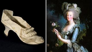 کفش ماری آنتوانت، ملکه پیشین فرانسه در حراجی به فروش رفت