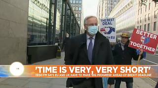 EU's Brexit negotiator Michel Barnier in London