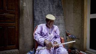 Le musicien malien Sory Bamba, tout en musique et en modestie
