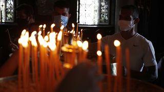 Greece church virus outbreak