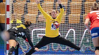 Norveç Hentbol takımı kalecisi Silje Solberg